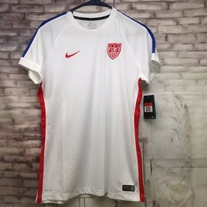USA Soccer Jersey Nike Dri-Fit Women's Large